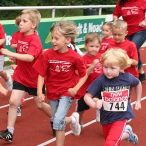 800-m-Schülerläufe in Büren
